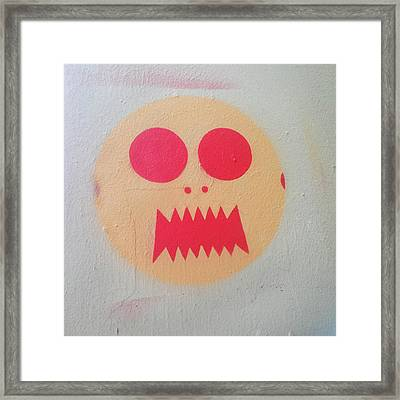 Framed Print featuring the photograph Space Alien by Art Block Collections