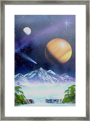 Space Art 2 Framed Print