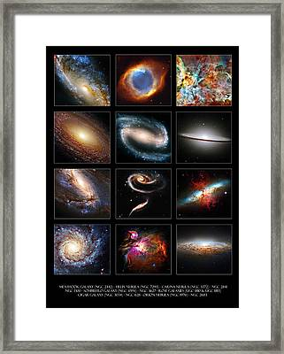 Space Beauties Framed Print by Ricky Barnard