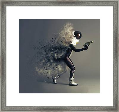Space Cadet Framed Print by Nichola Denny