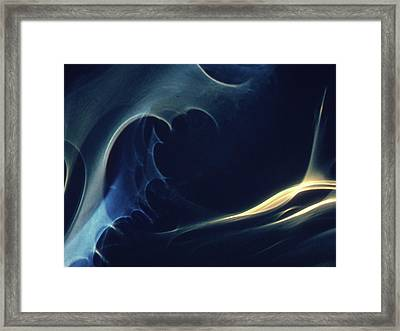 Space Convolutions Vii Framed Print by Alexander Weygers