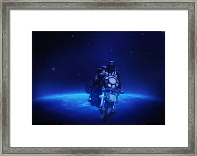Space Cowboy Framed Print by Bill Cannon