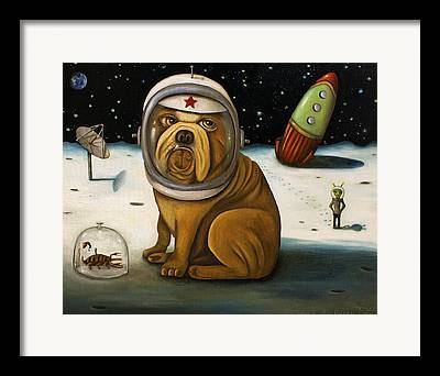 Interstellar Space Paintings Framed Prints