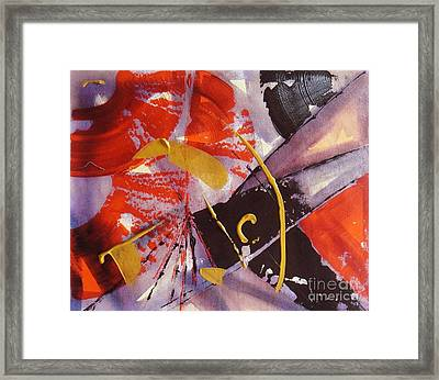 Space Dilution Series Framed Print by Yuvika Brahmawar