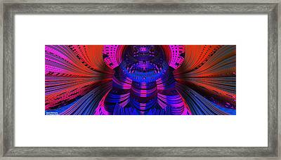 Space Dimensions  Framed Print by Gregory Pirillo