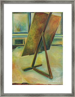 Space Filled And Empty Framed Print