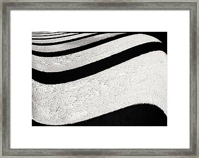 Space Geometry #16 Framed Print