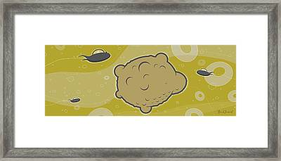 Space Germ Framed Print by Bill ONeil