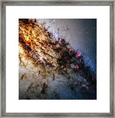Space Image Centaurus A Framed Print
