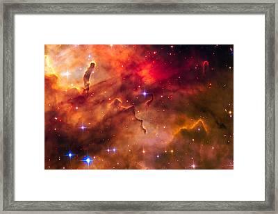 Space Image Cosmic Landscape Westerlund 2 Framed Print