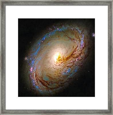 Space Image Galactic Maelstrom Spiral Galaxy  Framed Print
