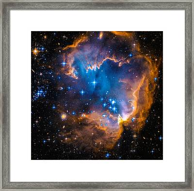 Space Image - New Stars And Nebula Framed Print
