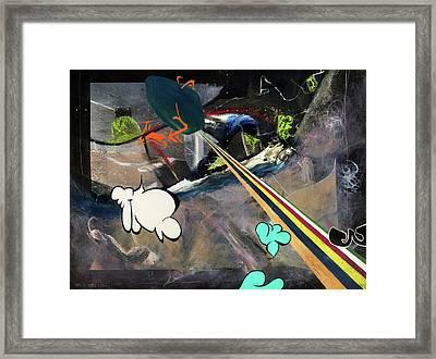 Space Immigrants  Framed Print by Antonio Ortiz