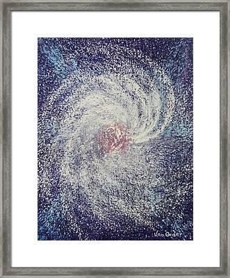 Space In Motion Framed Print by Richard Van Order