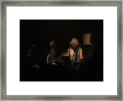I Know You Rider Framed Print by Betsy Knapp