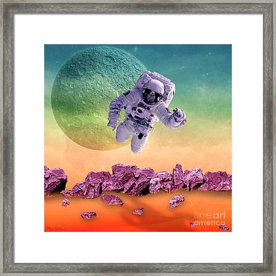 Space  Framed Print by Mark Ashkenazi