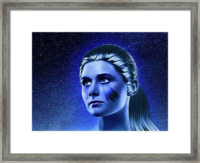 Space Odyssey Framed Print by Scott Meyer
