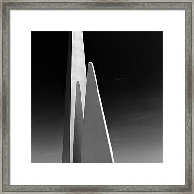 Space Port Framed Print by Dave Bowman