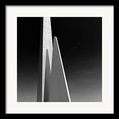 Contemporary Structures Framed Prints