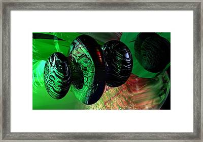 Space Reflections Framed Print by David Lane