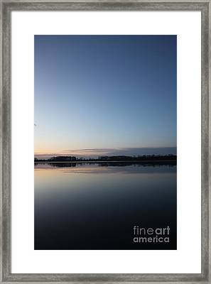 Space Requested And Granted Framed Print by Amanda Barcon