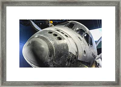 Space Shuttle Atlantis Framed Print by David Collins