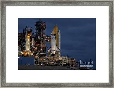 Space Shuttle Discovery Framed Print by NASA/Amanda Diller