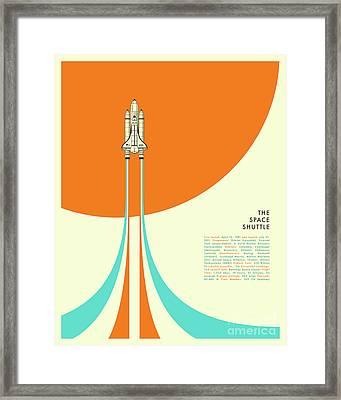 Space Shuttle  Framed Print