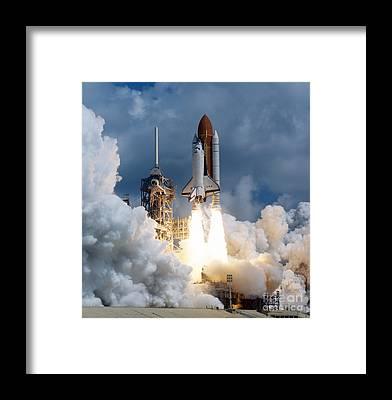 Rocket Framed Prints