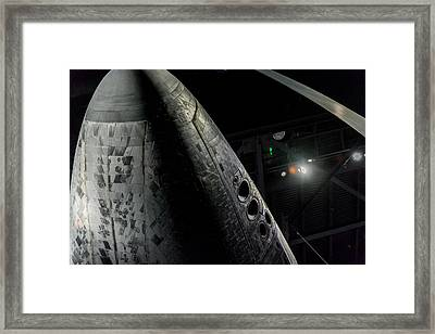 Space Shuttle Nose  Framed Print by David Collins