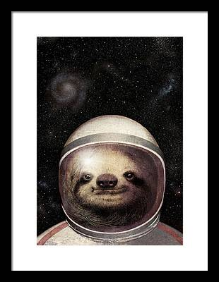 Galaxy Drawings Framed Prints