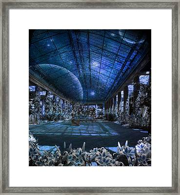 Framed Print featuring the photograph Space Solarium by John Rivera