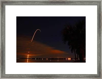 Space Station Bound Framed Print