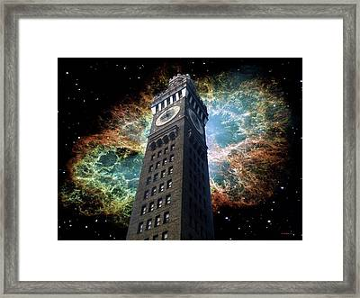 Space-time Framed Print by Brian Wallace