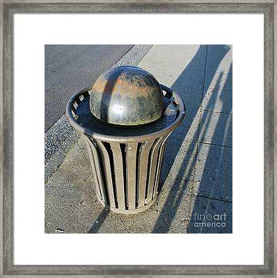 Framed Print featuring the photograph Space Trash by Bill Thomson
