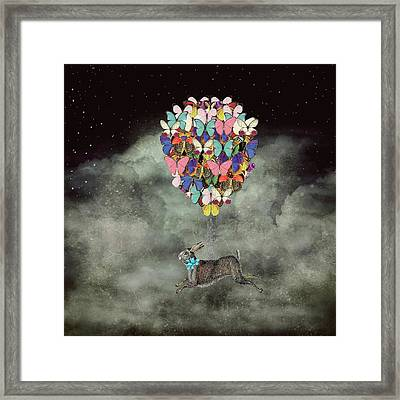 Space Travel Framed Print by Suzanne Carter