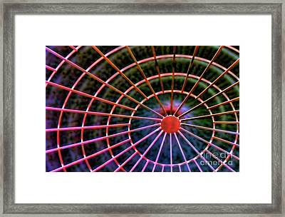 Space View Framed Print