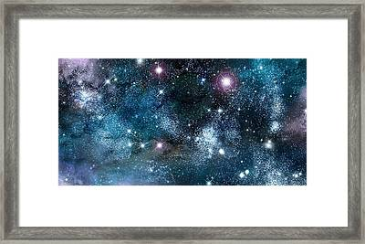 Space003 Framed Print
