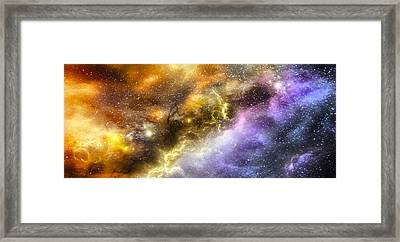 Space005 Framed Print