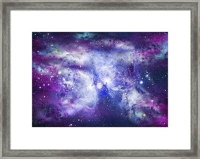 Space009 Framed Print