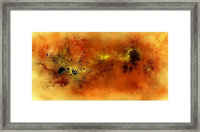 Space012 Framed Print