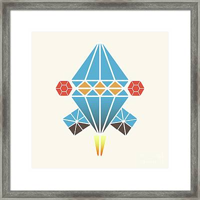 Spacecraft Framed Print by Gaspar Avila