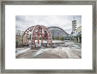 Spaced Out Framed Print by Andy Crawford