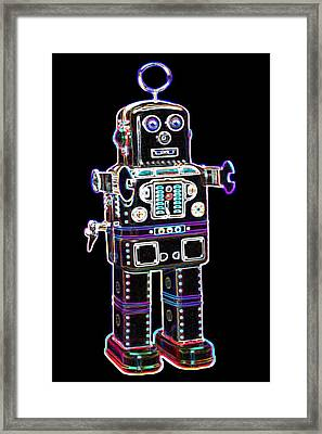 Spaceman Robot Framed Print by DB Artist