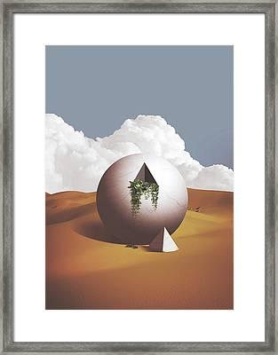 Spacemen Framed Print
