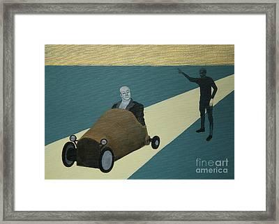 Spacer Extremalny Framed Print by Lusza Z Opolskiego