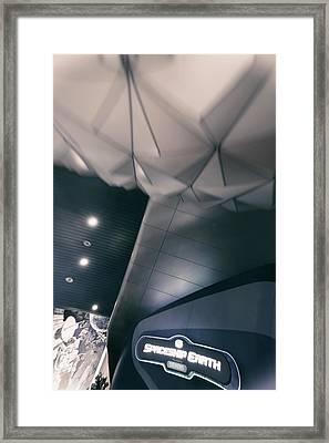 Spaceship Earth Framed Print