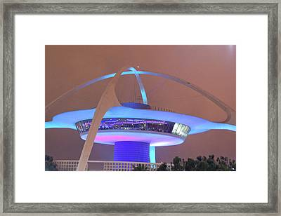 Framed Print featuring the photograph Spaceship by Matthew Bamberg