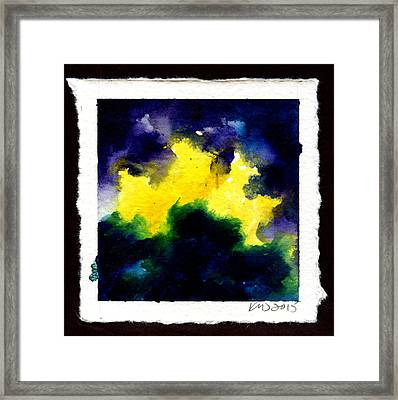 Spacestorm Framed Print by Ken Meyer jr