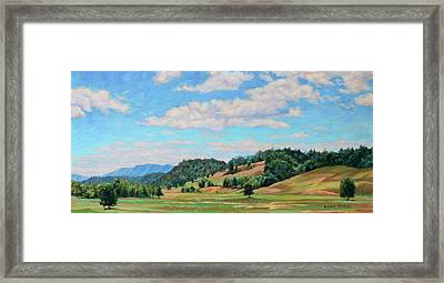 Spacious Skies Framed Print